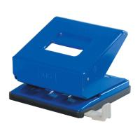 Picture of FIS 2 Hole Large Paper Punch, Blue, Pack of 48