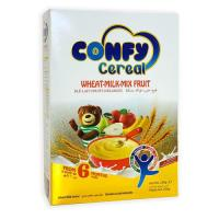 Picture of Confy Cereals Wheat Milk Mix Fruit, 250g, Pack of 12 - Carton