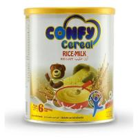 Picture of Confy Cereals Rice Milk Tin, 400g, Pack of 12 - Carton