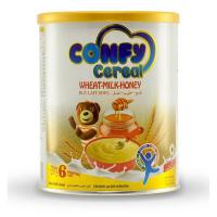 Picture of Confy Cereals Wheat Milk Honey Tin, 400g, Pack of 12 - Carton