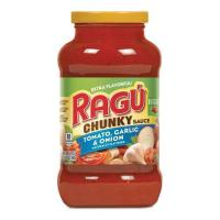 Picture of Ragu Tomato Garlic & Onion Sauce, 680g, Pack of 12