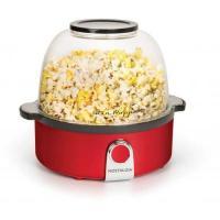 Picture of Nostalgia Retro Style Stir Popcorn Popper, SP240RR, Red