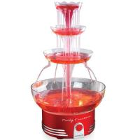Picture of Nostalgia Retro Deluxe Lighted Party Fountain - Red, DBF15RR