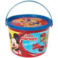 Picture of Mickey Deluxe Dough Bucket, Multicolor, 11 Pieces, Pack of 24