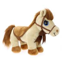 Picture of CuteKins Horse with Carry Case Toy for Kid's, Brown, Pack of 6