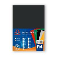 Picture of Libra Embossed Leather Board A4, Black, Carton of 10 Packs