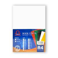 Picture of Libra Embossed Leather Board A4, White, Carton of 10 Packs