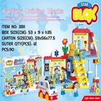 Picture of Fivestar Toys Medical Rescue Series Fantasy Building Blocks, 90 Pieces, Pack of 12