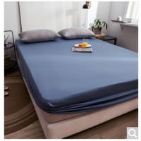 Picture of JD Slate Fitted Sheet, Dark Blue, 120x200cm, Pack of 10