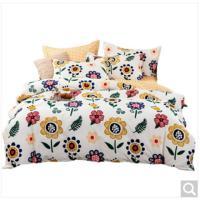 Picture of JD Floral Design Cotton Duvet Cover Set, Multicolor, 240x220cm, Pack of 10