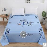 Picture of JD Floral Design Fitted Sheet, Blue, 180x200cm, Pack of 10
