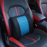 Picture of 4R Memory Foam Lumbar Cushion, KE-LC014A, Blue & Black, Pack of 5