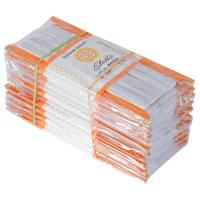 Picture of Braided Flat Elastic Sewing Band, White - Pack Of 70