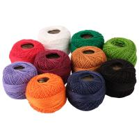 Picture of Crochet 95Y Cotton Yarn Thread Balls, Assorted - Pack Of 100