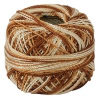 Picture of Crochet 95Y Cotton Yarn Thread Balls, Brown - Pack Of 100
