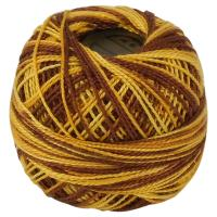 Picture of Crochet 95Y Cotton Yarn Thread Balls, Golden Ginger - Pack Of 100