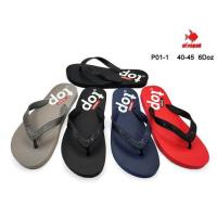 Picture of Printed Colorful Flip Flop For Men, P01-1, Assorted, Carton of 72 Pcs