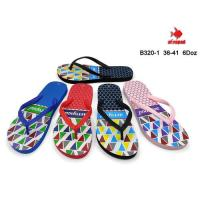 Picture of Printed Colorful Flip Flop For Women, B320-1, Assorted, Carton of 72 Pcs