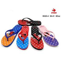 Picture of Printed Colorful Flip Flop For Women, B320-4, Assorted, Carton of 72 Pcs