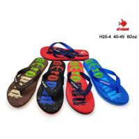 Picture of Printed Colorful Flip Flop For Men, H20-4, Assorted, Carton of 72 Pcs