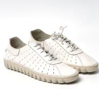Picture of Leather Lace-Up Casual Sneakers - Carton of 12