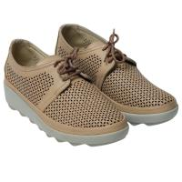 Picture of Leather Stitched Lace-Up Casual Shoes - Carton of 12