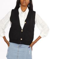 Picture of V-Neck Buttoned Vest with Pockets - Pack of 12