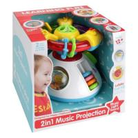 Picture of Fivestar Toys Three Projection Steering Wheel with Music and Lighting Toy, Multicolor