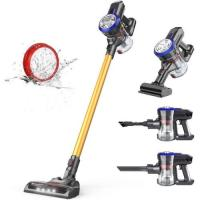 Picture of JD Dibea Lightweight Cordless Stick Vacuum Cleaner - Gold, D18