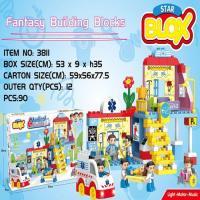 Picture of Fivestar Toys Class Building Blocks, Multicolor, Set of 90pcs