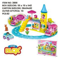 Picture of Fivestar Toys Electric Class Blocks with Music, Set of 62pcs
