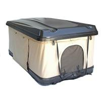 Picture of JD Hard Shell Car Rooftop Tent, Black & Beige