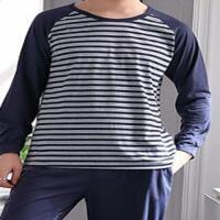 Picture of JD Mens LS Pajama Set- VD20118, Blue