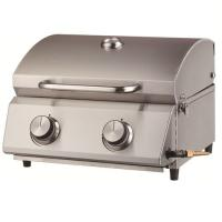 Picture of JD Stainless Steel 2 Burner Tabletop Grill, Silver