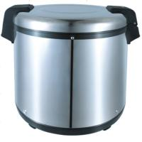 Picture of JD Drum Electric Rice Cooker - Silver & Black