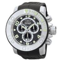 Picture of Invicta Men's 0412 Sea Hunter Quartz Chronograph Black Dial Watch