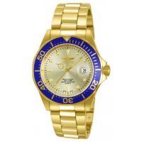Picture of Invicta Men's 14124 Pro Diver Quartz 3 Hand Gold Dial Watch