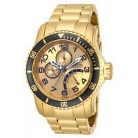 Picture of Invicta Men's 15343 Pro Diver Quartz Multifunction Gold Dial Watch