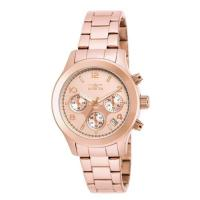 Picture of Invicta Women's 19218 Angel Quartz Chronograph Rose Gold Dial Watch
