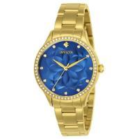 Picture of invicta Women's 24537 Wildflower Quartz 3 Hand Blue Dial Watch
