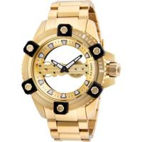 Picture of Invicta Men's 26486 Reserve Mechanical 2 Hand Gold Dial Watch