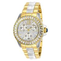Picture of Invicta Women's 29105 Angel Quartz 3 Hand Gold Dial Watch