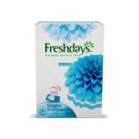 Picture of Fresh Days Daily Liners, Normal Singles - Carton Of 408 Pcs