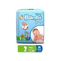 Picture of Sanita Bambi Baby Diapers Regular Pack, Small - Carton Of 76 Pcs