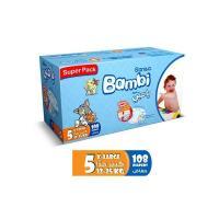 Picture of Sanita Bambi Baby Diapers Super Pack, X-Large - Carton Of 108 Pcs