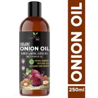 Picture of Luxura Sciences Onion Hair Oil with 14 Essential Oils, 250ml - Brown