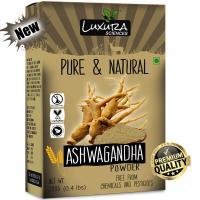 Picture of Luxura Sciences Natural Ashwagandha Powder, 200gm - Light Brown