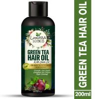 Picture of Luxura Sciences Green Tea Hair Oil with Onion Oil, 200ml - Black