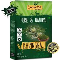 Picture of Luxura Sciences  Bhringraj Powder for Hair Growth and Conditioning, 200gm - Light Green