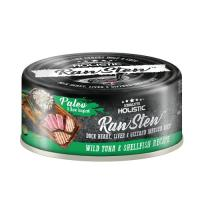 Picture of Absolute Holistic RawStew, Wild Tuna& Shell Fish Recipe, 80g - Carton Of 24 Cans